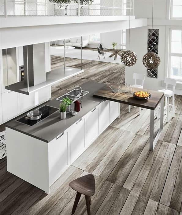 snaidero italiaanse design keuken in model lux van pietro arosio, Meubels Ideeën
