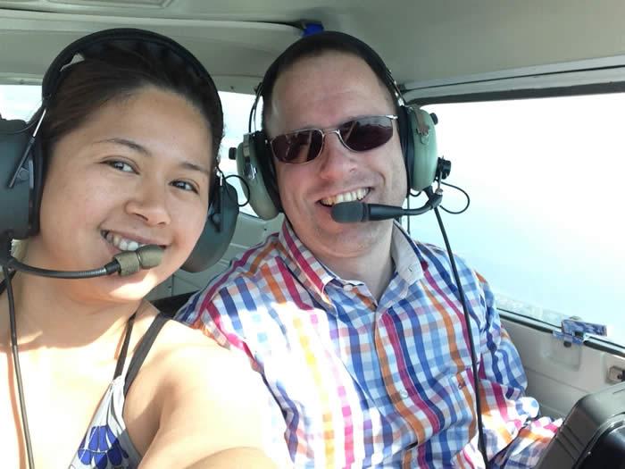 Ook is de klant van project 613 nog wezen vliegen met ons boven Zeeland.
