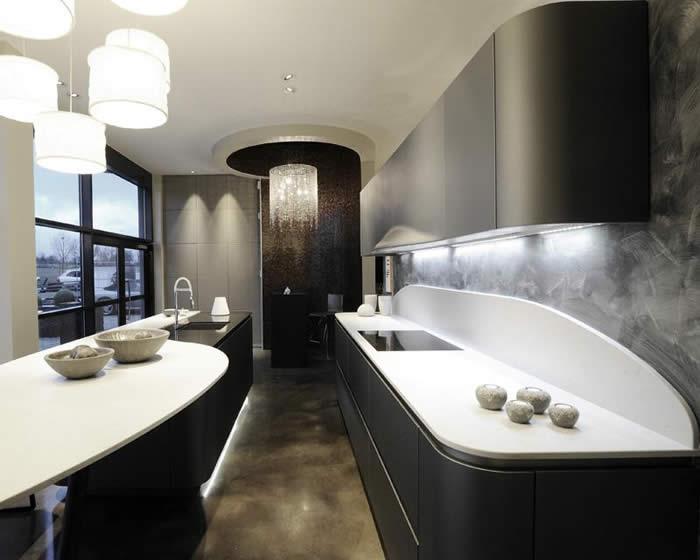 Corian Achterwand Keuken : Design Keukens e.d.: Keukens in Zeeland, Ola 20 in Biggekerke