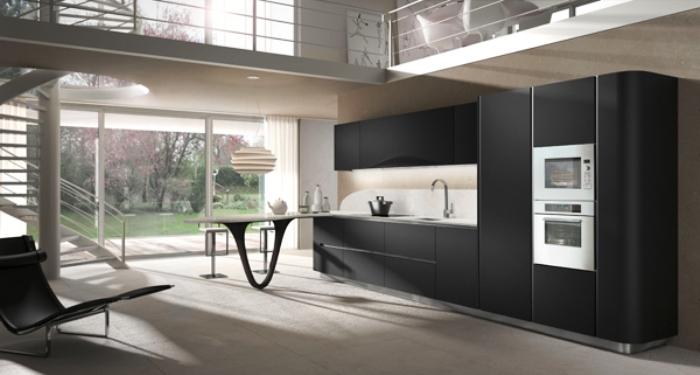 Hoge Kastenwand Keuken : de ontwerper van Italiaanse design keukens zoals de Snaidero Ola 20