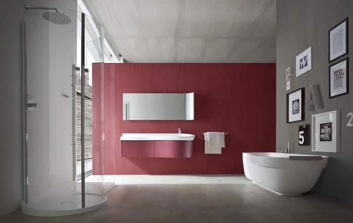 Italiaanse Keuken Teksten : Italiaanse design badkamer type Prima by Paolo Pininfarina. Deze