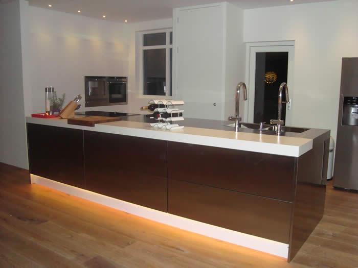 Design Keukens Gelderland : Italiaanse design keuken van snaidero te rockanje projekt 621