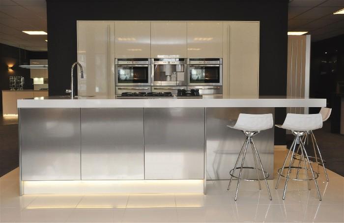 Keuken Kookeiland Afmetingen : rj keukens snaidero s1 keuken opstelling