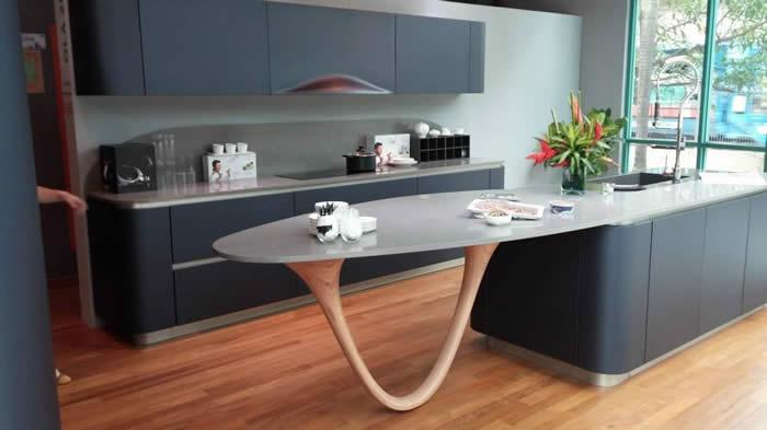 Keuken Zwart Mat : Als je veel licht in huis hebt dan is mat zwart natuurlijk ook een