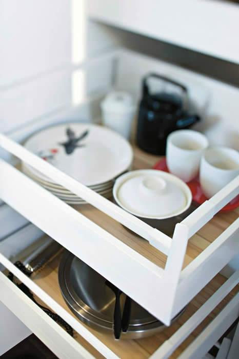 Keuken binnenlade ontwerp keuken accessoires - Keuken in lengte ...