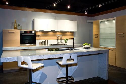 Keuken Marmer Blad: Keuken marmer werkblad marmeren plaat snijplank.