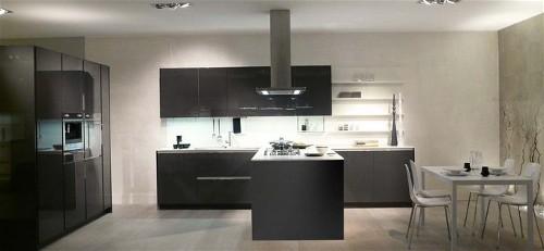Grijze Keuken Met Zwart Blad : Rudy`s blog over Italiaanse Design Keukens e.d.: Hoogglans keukens
