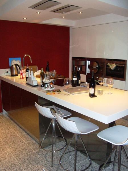 Inbouwspots Keuken Plafond : Inbouwspots Keuken Plafond : keuken Sistema Zeta geplaatst te