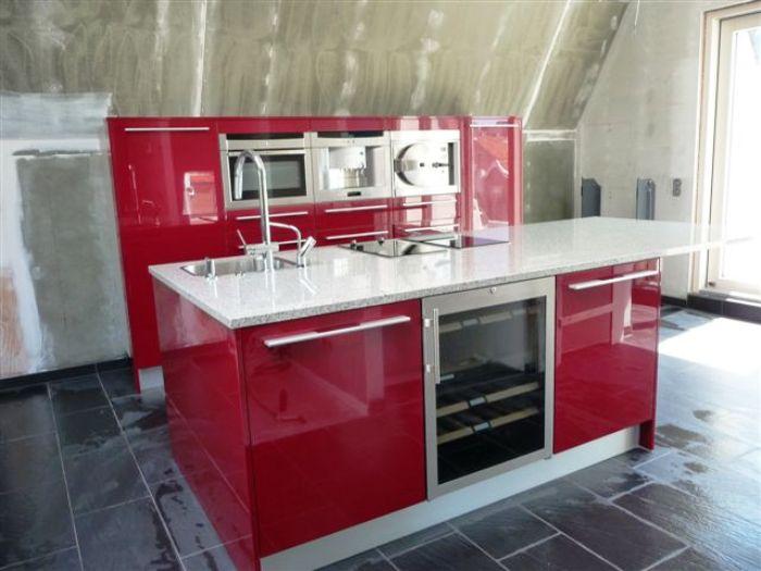 Project 484 In Rotterdam Een Snaidero Italiaanse Design Keuken Tecnica