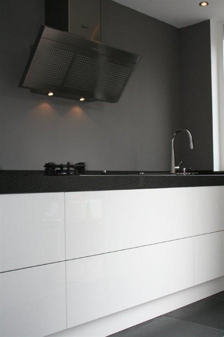 Witte Keuken Onderkast  Kast kookplaat achterwand keuken welk materiaal welke eisen