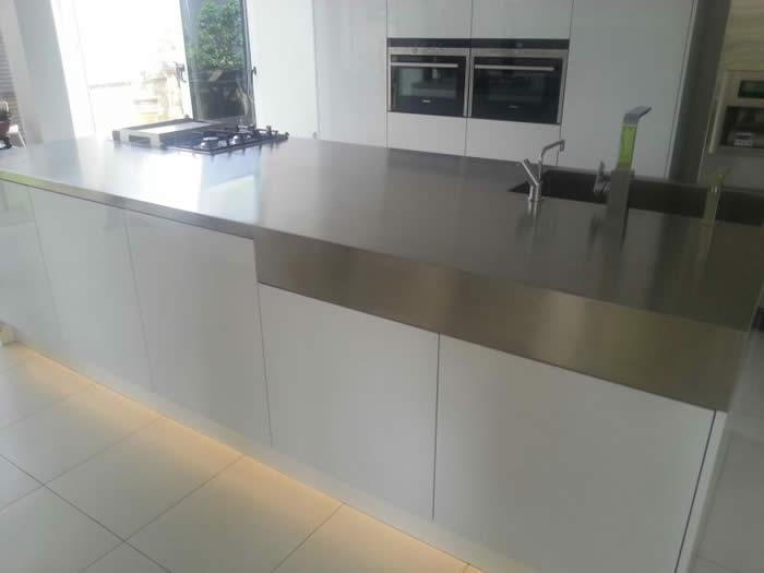 Keuken Design Suriname : Bij deze keuken in Suriname hebben we een ...