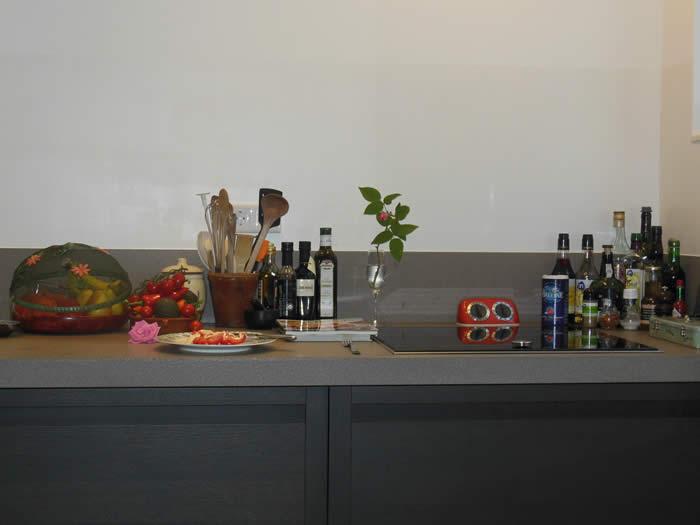 Keuken Donker Hout : Snaidero keuken is geleverd in model Terra dark (donker eiken hout