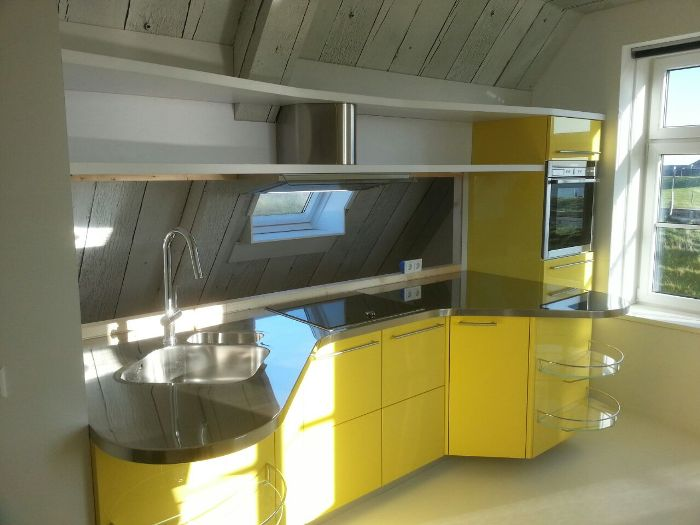 Italiaanse design keuken Skyline 2.0 voor klant in Texel