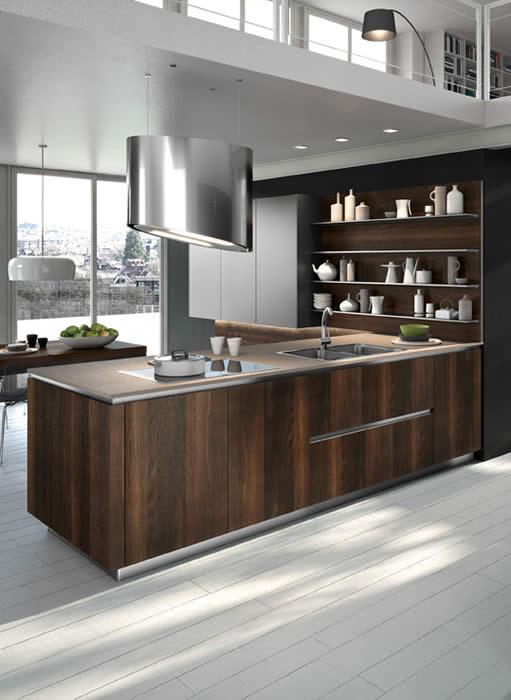 Keukenkasten Suriname: Moderne keukens suriname luvern in.