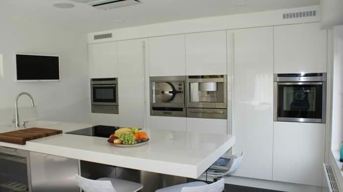 Project 521 een snaidero italiaanse designkeuken geplaatst in zeeland - In het midden eiland keuken ...