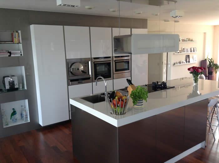 Keuken Design Amsterdam : een klant in Amsterdam hebben we een nieuwe Italiaanse design keuken